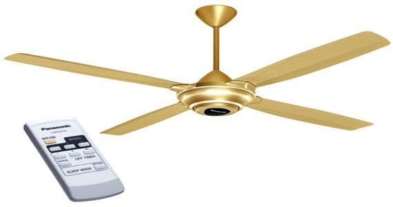 Màu sắc sáng sẽ là gợi ý quạt trần giúp tạo điểm nhấn cho không gian nội thất